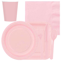 Pastel Pink Tableware