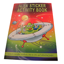 Alien Sticker Activity Book