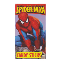 Amazing Spider-Man Candy Sticks
