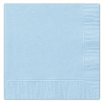 Baby Blue Luncheon Napkins (20 Pack)