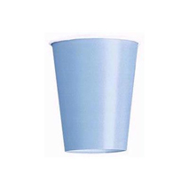 Baby Blue Paper Party Cups (14 Pack)