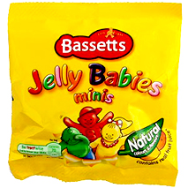 Bassetts Jelly Babies Mini