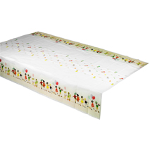 Belle and Boo Paper Table Cover