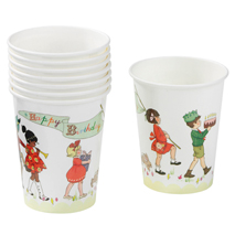 Belle and Boo Paper Party Cups (Pack of 8)