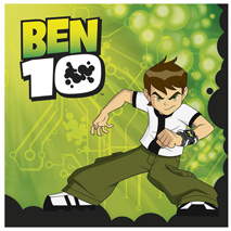 Ben 10 Party Napkins (20)