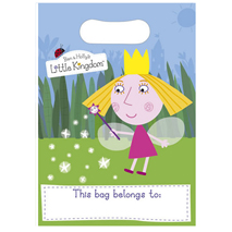 Ben and Holly's Little Kingdom Loot Bags (8 Pack)