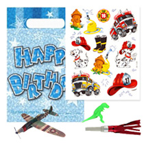 Boys Happy Birthday Pre Filled Party Bag (4 fillers)