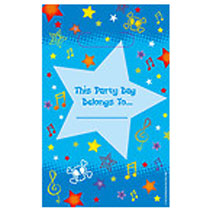 Boys Star Party Loot Bags
