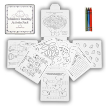 Childrens Wedding Activity Pack
