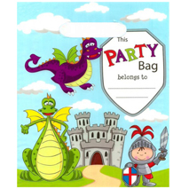 Knights and Dragons Loot Bags (10 pack)