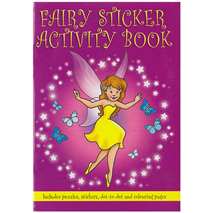 Fairy Sticker Activity Book