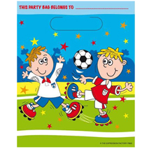 Football Fun Loot Bags (8 pack)