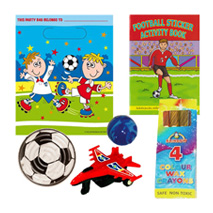 Football Fun Pre Filled Party Bag