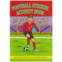 Football Sticker Activity Book