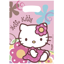 Hello Kitty Bamboo Loot Bags (6 pack)