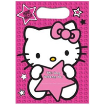 Hello Kitty Loot Bags (8 pack)