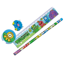 Little Monster Stationery Set