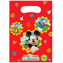 Mickey Mouse Clubhouse Loot Bags (6 pack)