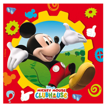 Mickey Mouse Party Napkins (20)