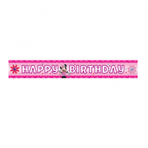 Minnie Mouse Foil Party Banner (4.5m)