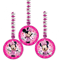 Minnie Mouse Party Dangling Cutouts (3 Pack)