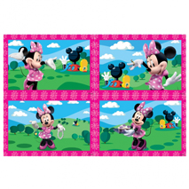 Minnie Mouse Party Jigsaws (4 Pack)