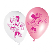 Minnie Mouse Party Balloons (8 Pack)