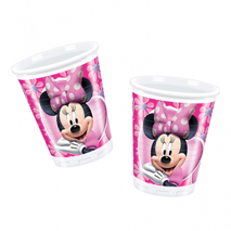 Minnie Mouse Plastic Party Cups (10 Pack)