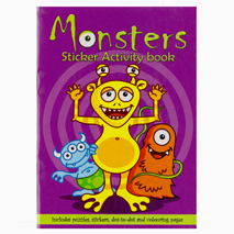 Monsters Sticker Activity Book