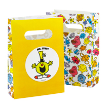 Mr. Men Paper Party Loot Bags (8 Pack)