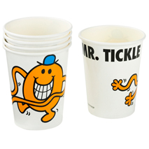 Mr Men Paper Party Cups (8 Pack)