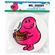 Mr Men Party Plates (8 Pack)