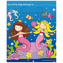 Mermaids Party Bags (8 pack)