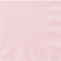 Pastel Pink Luncheon Napkins (20 Pack)