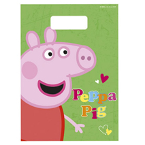 Peppa Pig Loot Bags (8 pack)
