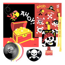Pirate Fun Pre Filled Party Bag 99p