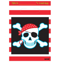 Pirate Loot Bags (8 pack)
