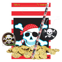 Pirate Loot Pre Filled Party Bag