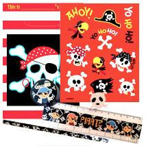 Pirate Pre Filled Stationery Party Bag