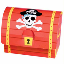 Pirate Treasure Chest Favour Boxes (8 Pack)