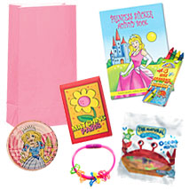 Pre Filled Girls Activity Party Bag