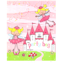 Princess Castle Party Loot Bags (10 Pack)
