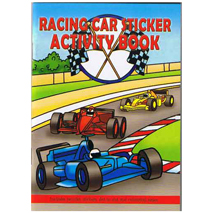 Racing Car Sticker Activity Book