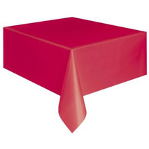 Ruby Red Tablecover
