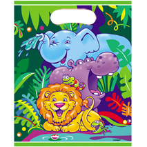 Safari Loot Bags (8 pack)