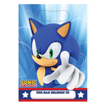 Sonic the Hedgehog Loot Bags (8 Pack)