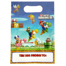 Super Mario Brothers Loot Bags (8 Pack)
