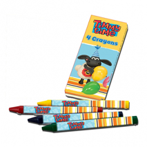 Timmy Time 4 Colour Crayons (6 Packs)