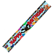 Timmy Time Foil Party Banner