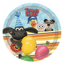 Timmy Time Party Plates (8 Pack)